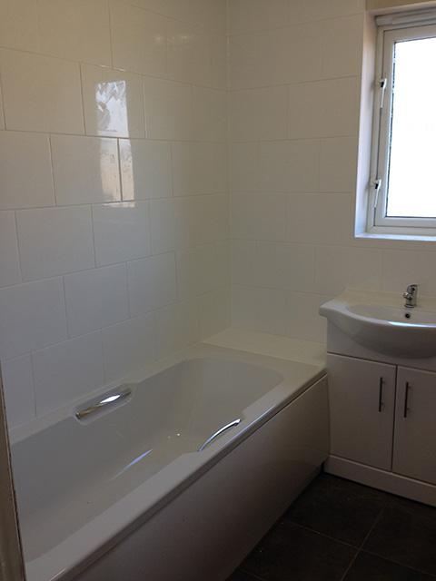 Andover electrical bathroom installation services for Bathroom installation services